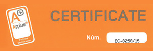 Q certificate ISO 9001